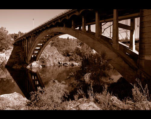 Old Folsom Bridge by Brett Jensen