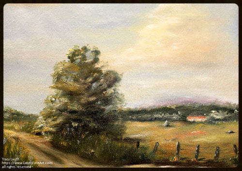 Plein Air by Tracy Lauth