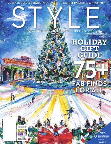 Style Magazine Cover December 2018 by Janeen Meyer-Johanson