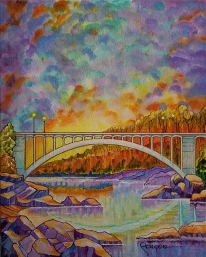 Introspection at the Rainbow Bridge by Leo Songco