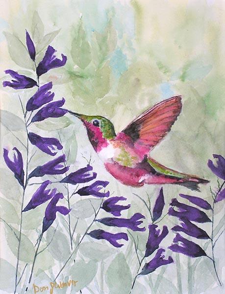 Hummingbird by Don Weaver